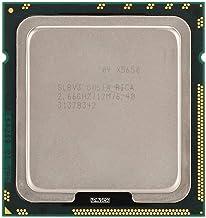 Diyeeni Procesador Xeon X5650 (Socket: LGA 1366, 6 núcleos, Tipo de Memoria: DDR3 800/1066/1333, 12 MB de caché) CPU para X58, Placa Base de la Serie X79, Proceso de fabricación de 12 NM