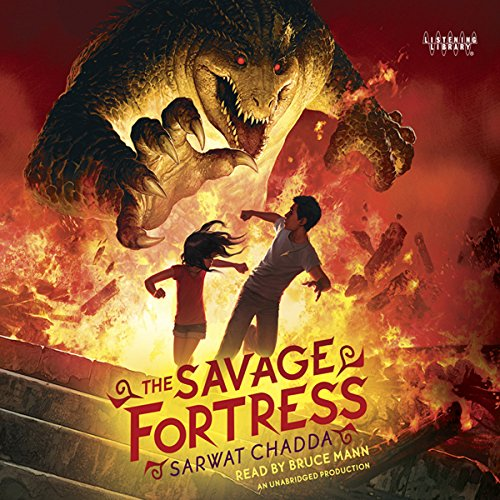The Savage Fortress audiobook cover art