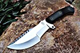 Bobcat Knives Custom Handmade SURVIVOR Tracker Knife Tactical Survival Fully Functional 12'' Overall