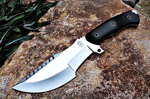 Bobcat Knives Custom Handmade SURVIVOR Tracker Knife Tactical Survival Fully Functional 12'' Overall