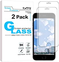 KATIN iPhone 7, 8 Screen Protector - [2-Pack] (Japan Tempered Glass) for Apple iPhone 8, iPhone 7, iPhone 6S, iPhone 6 (4.7-inch) Bubble Free, Easy to Install with Lifetime Replacement Warranty