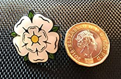 YORKSHIRE ROSE ENAMEL PIN BADGE (PB7) BIGGER THAN OTHERS A GREAT GIFT #2