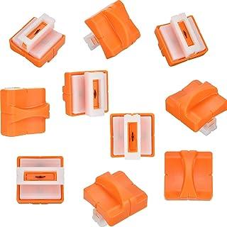 10 Piezas de Cuchilla de Repuesto de Guillotina de Papel con Diseño Prensado Seguro para Cortadora de Papel (A4)