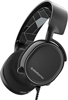 SteelSeries Arctis 3 (Edición Legado) - Auriculares para juego, PC Mac, PlayStation 4, Xbox One, Nintendo Switch, Móvil, VR, color Negro