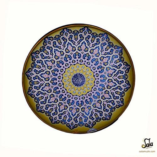 Pintura persa Daf, Deff, Def, Erbane, Bendir con funda blanda NDR-232