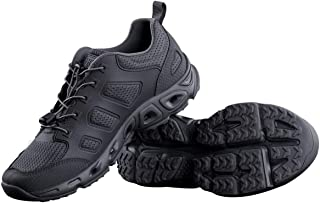 FREE SOLDIER Men's Tactical Shoes Summer Breathable Ultra Light Quick Dry Hiking Shoes for Water Dry Land Trekking Tactica...