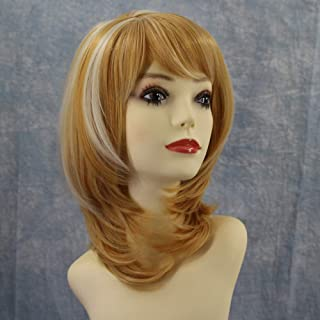 Nishore High-temperature Synthetic Fiber Curly Matte Wigs for The Light-curves Natural Side Bangs Short Hair