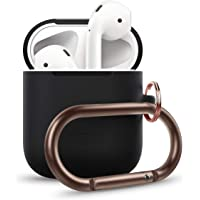 elago AirPods Hang Case Compatible with Apple AirPods 1 & 2 (Black)