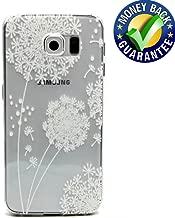 S6 Phone Case, S6 Case, GTGJ Soft Slim Clear TPU Plastic Back Protective Case for Samsung Galaxy S6 SM-G9200 (Dandelion)