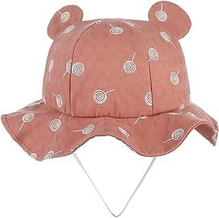 LiJuan Shen Unisex Boy Girl Fisherman Hat Sunscreen Hat Cute Cartoon Printing Hat Size 49CM