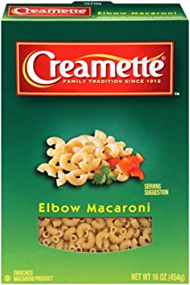 Creamette Elbow Macaroni Pasta, 16 oz Box