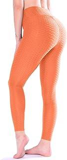 TFO Women's High Waist Yoga Pants Slimming Tummy Control Leggings Sports Workout Running Butt Lift Tights