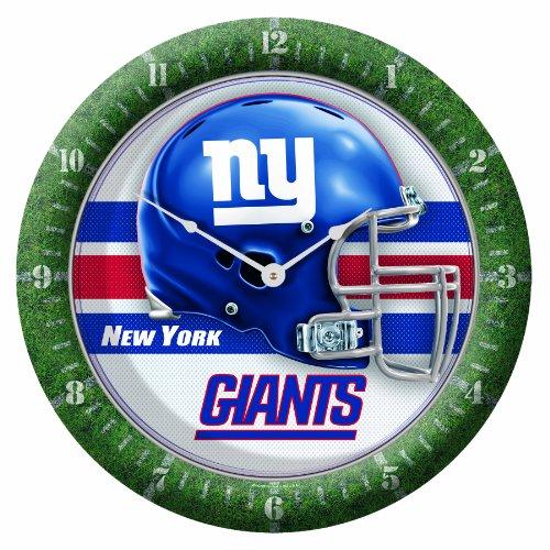 NFL New York Giants Game Clock, 10.75' x 10.75'