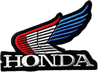 Automotive Industry Motorcycle Motorbike Wing Vehicle Logo Patch Embroidered Sew Iron On Patches Badge Bags Hat Jeans Shoes T-Shirt Applique