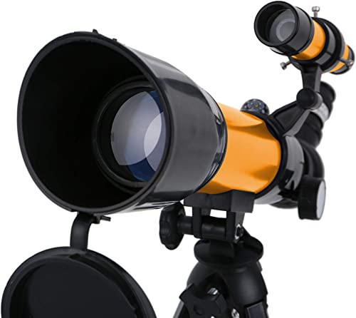 popular OPTIMISTIC Telescope Set for Kids Beginners, outlet sale 50MM Refracting Telescope, Astronomical Lunar Telescope Monocular for Kids, Educational Toys, with Eyepieces, Tabletop 2021 Tripod, Finder Scope outlet sale