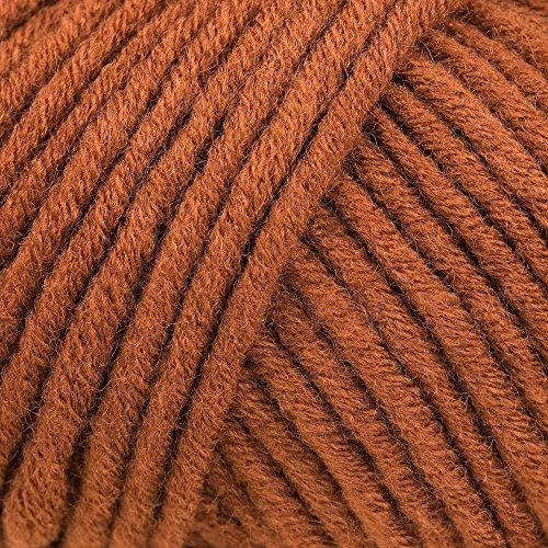 Lana Grossa Mille II 081 Rotbraun 50g Wolle