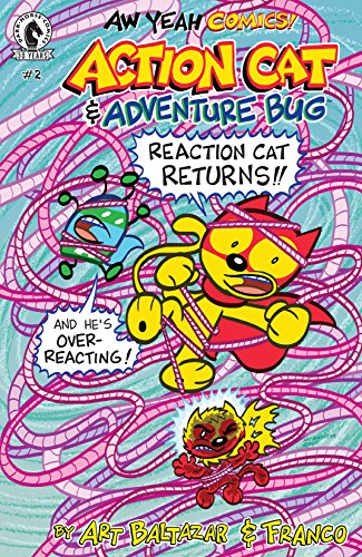 Aw Yeah Comics: Action Cat & Adventure Bug #2 (English Edition)