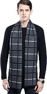 Super Soft Winter Cashmere & Wool Blend Scarf for Men 70