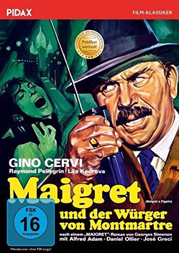Maigret und der Würger von Montmartre (Maigret a Pigalle) / Packende und mit dem Prädikat WERTVOLL ausgezeichnete Maigret-Verfilmung mit Gino Cervi (Pidax Film-Klassiker)