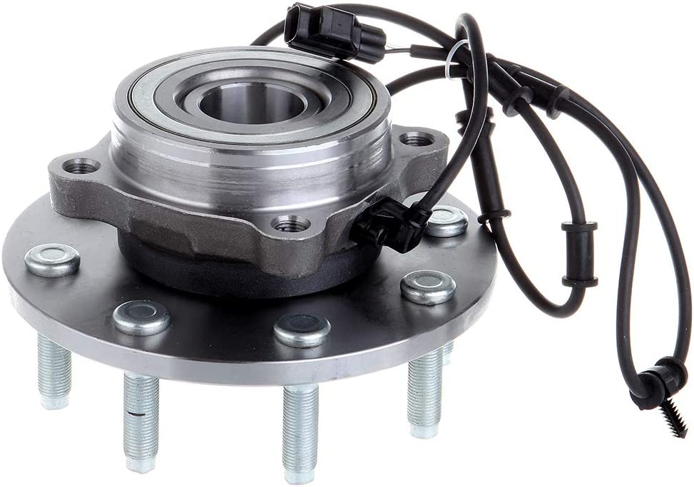 OCPTY New Wheel Hub Bearings front Colorado Springs Mall Axle 8 Lugs with for ABS Super-cheap Fit