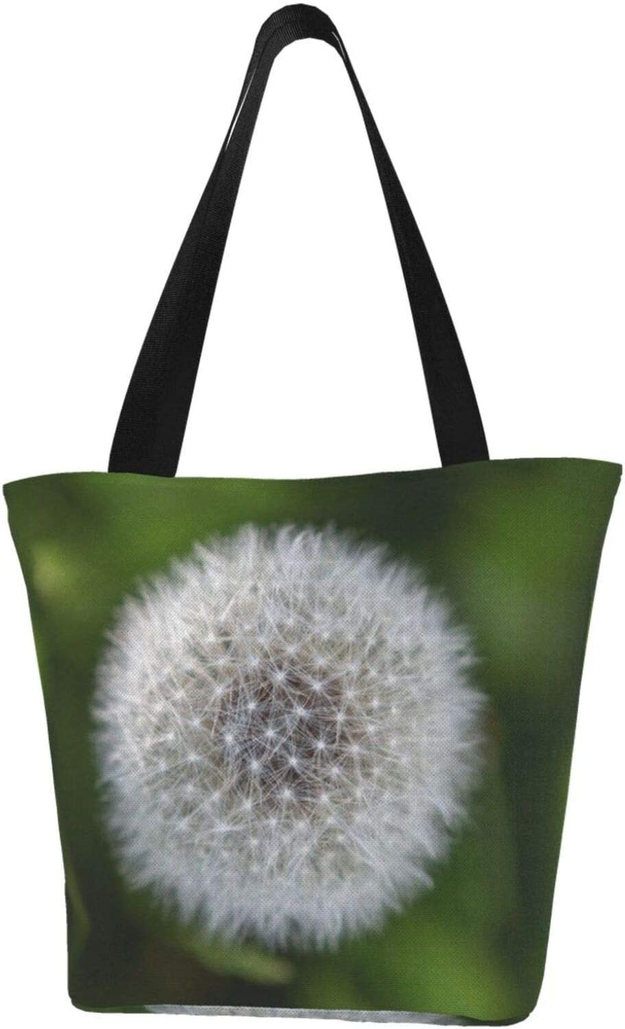 AKLID White Dandelion Wish Extra Resistant Large OFFicial mail order Translated Canvas Water To