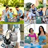 3 in 1 Diaper Bag Backpack with Foldable Bed, Portable Sleeping Mummy Bag for Newborn Essentials Must Haves Organizer with Stroller Hook,Large Capacity Waterproof Travel Bags for Mom Dad #5