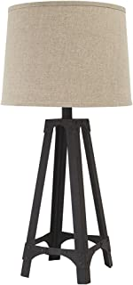 Ashley Furniture Signature Design -  Satchel Metal Table Lamp - Industrial - Brown