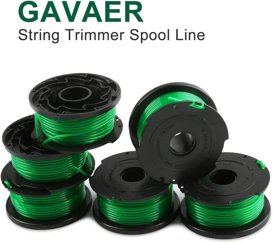 GAVAER Dual Line Replacement Spool Compatible with DF-065 Black ...