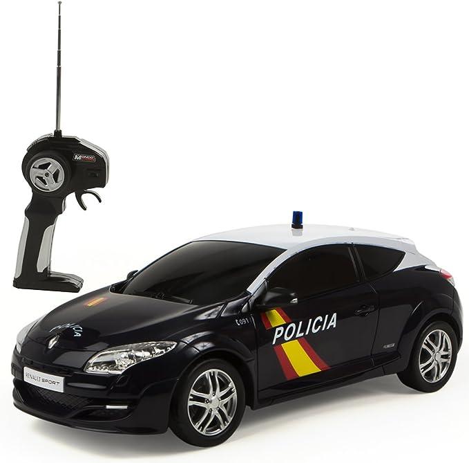 Mondo Toys - Renault Megane Policía Nacional Española, coche con radiocontrol 1:14 (63202): Amazon.es: Juguetes y juegos