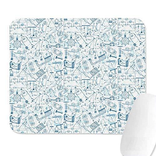 Mathe Gleichungen Wissenschaft Grafik Weiß Niedlich Beliebte Gaming Office Billig Waschen Rutschfeste Gummibasis Mauspad