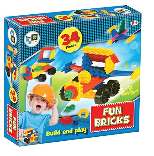 Beluga Jouets 2428 Fun Bricks – Briques à Picots 34 pièces