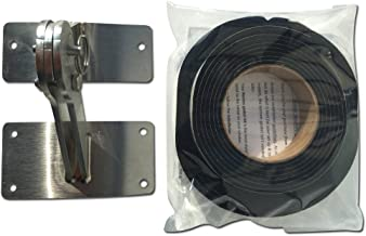 Weber KETTLE Stainless Lid HINGE & GASKET Kit One Touch 22 26 Kettle 22.5 26.75