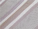 Suelo al aire libre respirable Leisurewize Capri bestdeal estera, color  - Grey Stripe, tamaño 3.0 m x 2.5 m