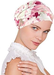 Chemo Cap Womens Soft Printed Beanie Sleep Turban Hat Headwear for Cancer Patients
