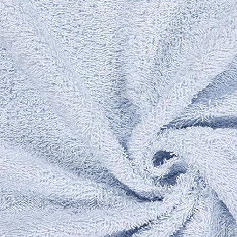 Fabulous Fabrics Frott/é V/êtements pour la Maison et Peignoirs de Bain Blanc /— Vendu au m/ètre /à 0,5m /— Oeko-Tex Standard 100 /— pour Coudre Serviettes//Torchons