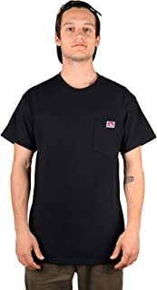 Ben Davis Men's Short Sleeve Heavyweight Pocket T-Shirt