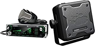 Uniden Bearcat 880 CB Radio with 40 Channels and Large Easy-to-Read 7-Color LCD Display with Backlighting & (BC15) Bearcat 15-Watt External Communications Speaker. Durable Rugged Design