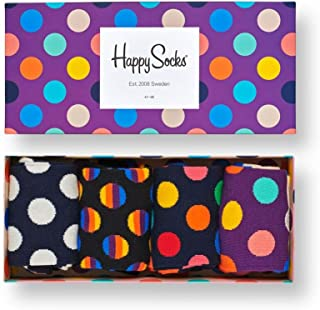 Happy Socks Calcetines (Pack de 4) para Mujer