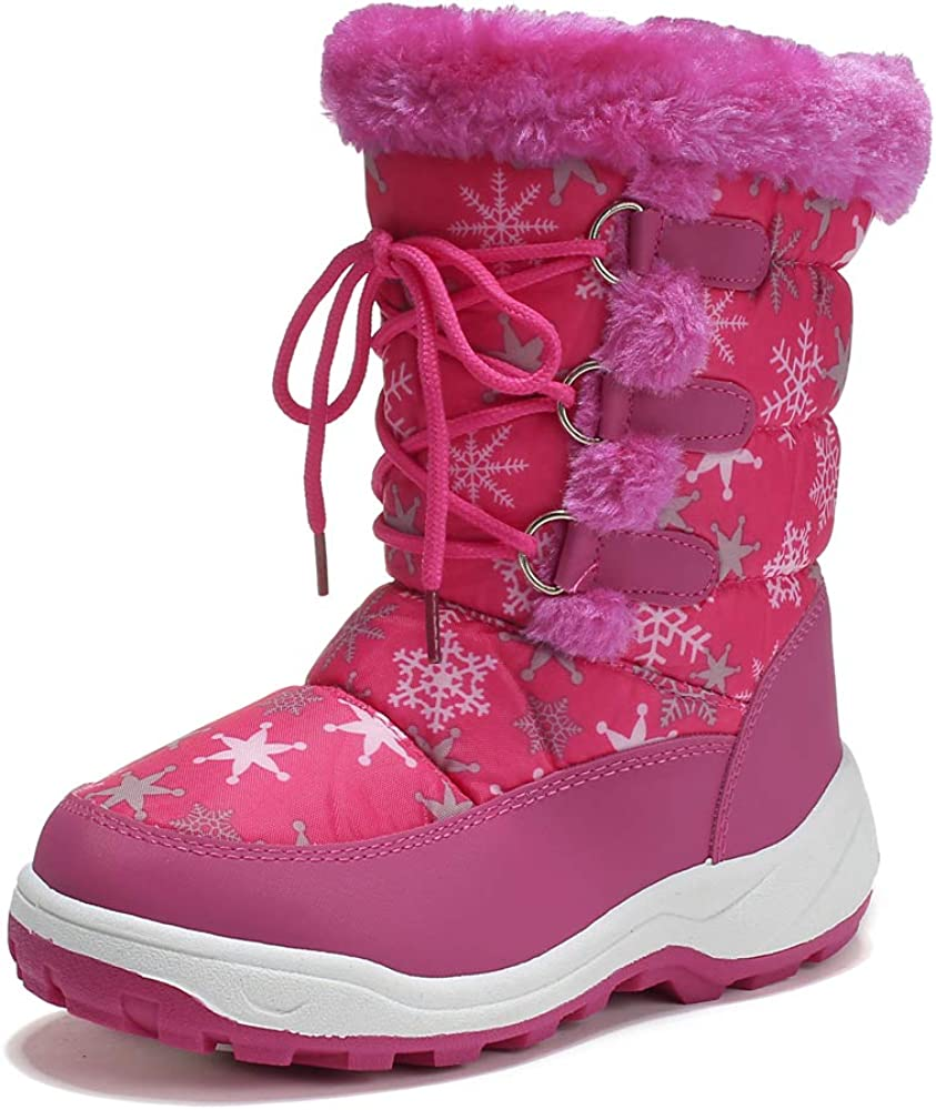 peggy Shipping included piggy Boy's Girl's Winter Boots Outdoor We Waterproof Cold Quantity limited
