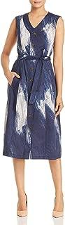 Womens A-line Sleeveless Casual Dress