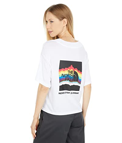 The North Face Pride Short Sleeve Crop Tee