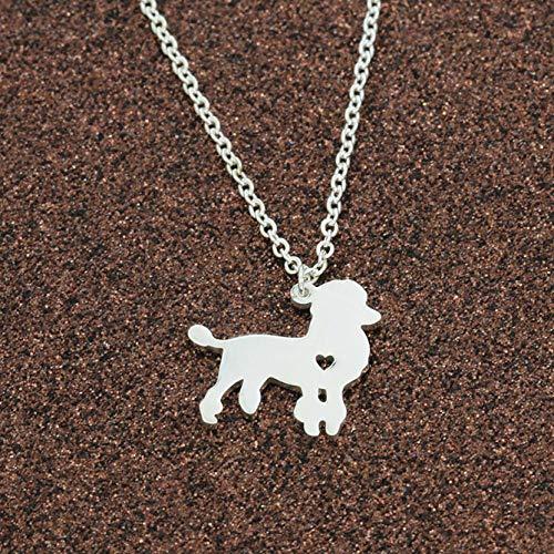 Xianglsp Co.,ltd Halskette Halsketten Anhänger Für Frauen Gold Silber Langkettige Edelstahl Teddy Weiblich Anhänger Halskette Modeschmuck