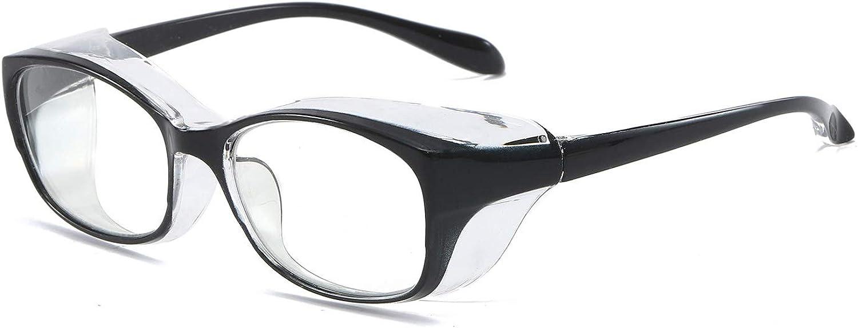 KoKoBin Gafas de protección antivaho y anti saliva, ultra violeta, HD, para hombres y mujeres
