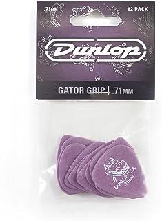 Dunlop 417P.71 Gator Grip, Purple.71mm, 12/Player's Pack