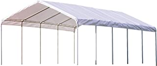 ShelterLogic 18' x 40' SuperMax Heavy Duty Steel Frame Quick and Easy Set-Up Canopy