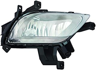 CarLights360: Fits 2014 2015 2016 KIA FORTE Fog Light Assembly Passenger Side w/Bulbs - (CAPA Certified) Replacement for KI2593133