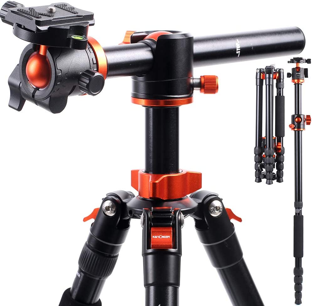 Popular products KF Concept TM2515T1 Professional 67 Tripod Horizont inch Camera Cheap mail order specialty store