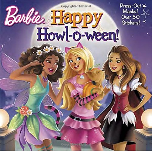 Happy Howl-o-ween! (Barbie) (Pictureback(R)) by Random House (2016-07-26)
