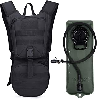 G4Free Military Hydration Pack Backpack with 3L Upgraded Bladder for Hiking, Running