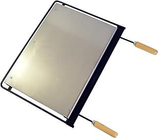Imex El Zorro 71618   - Plancha para barbacoa, hierro, Gris